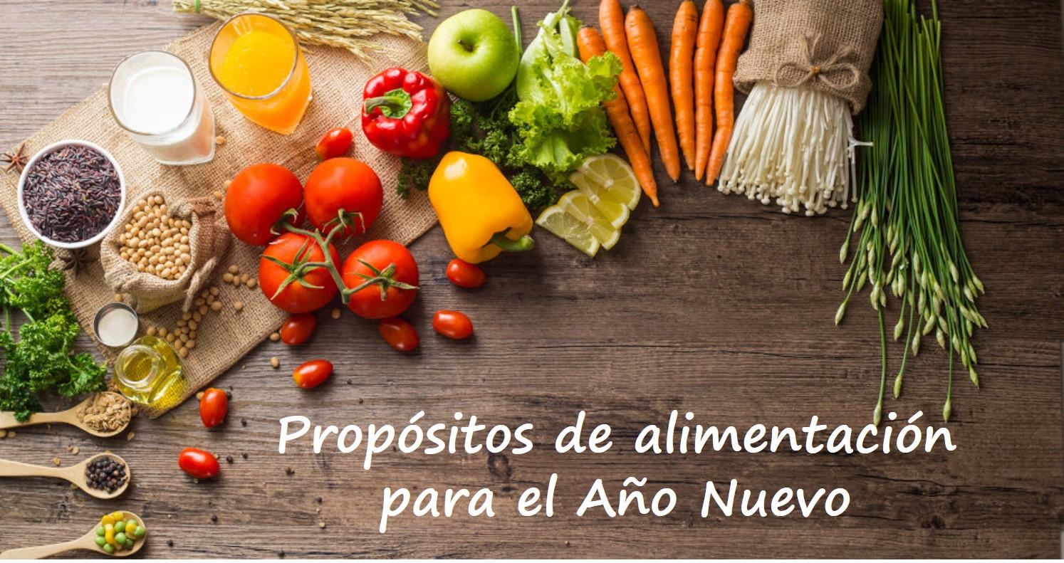 5 Consejos de Alimentación para una dieta saludable en este año que comienza