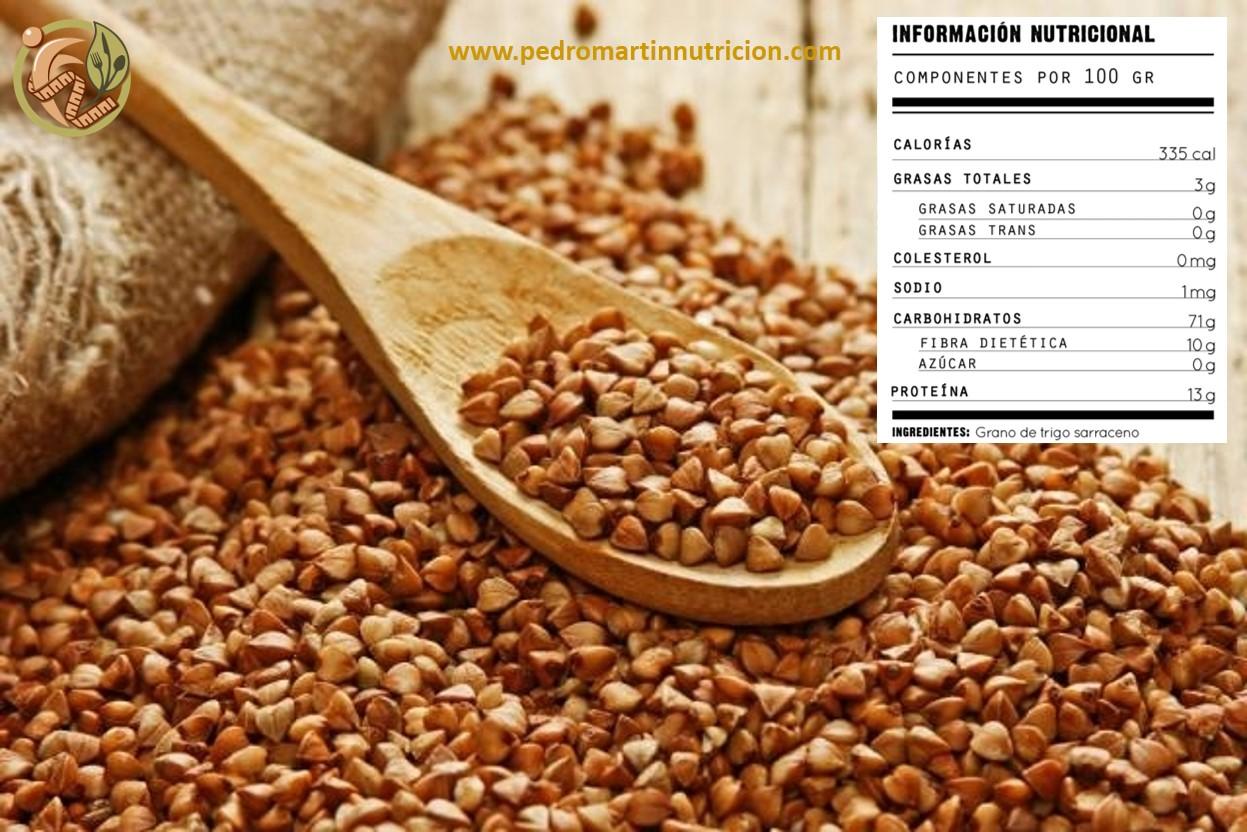 Trigo sarraceno: propiedades, beneficios y cómo cocinarlo
