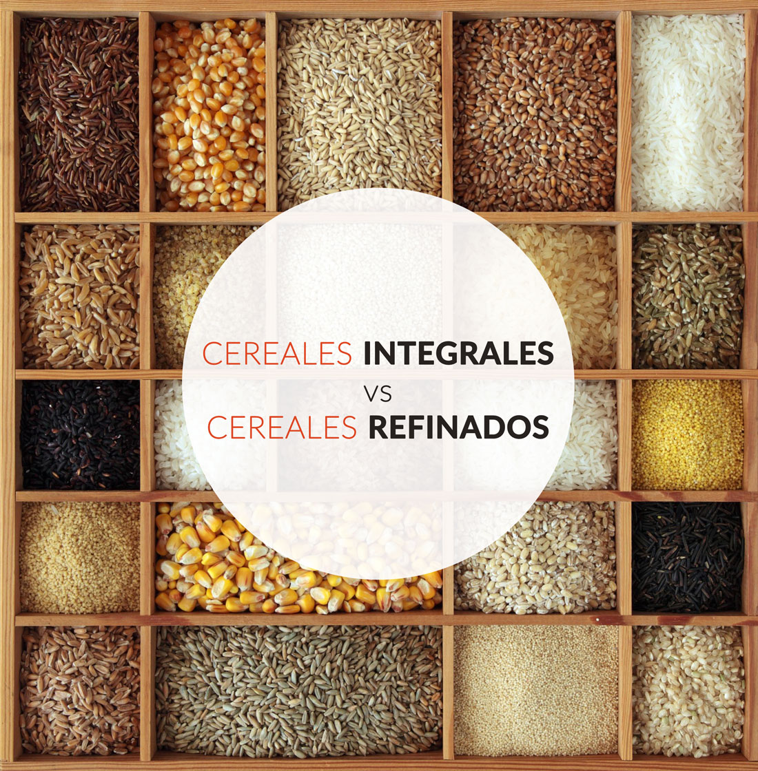 Importancia de los cereales integrales