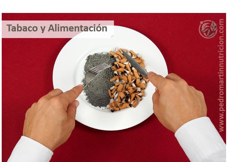 ¿Sabes cómo afecta el tabaco a tu alimentación?