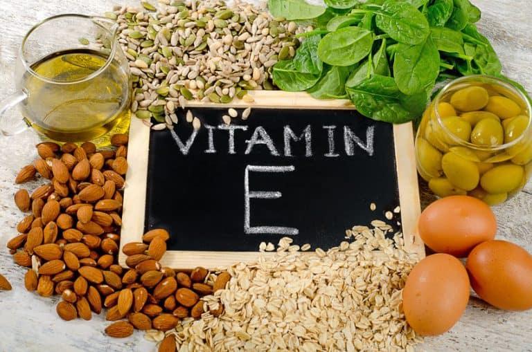 Vitamina E, la vitamina antioxidante por excelencia.