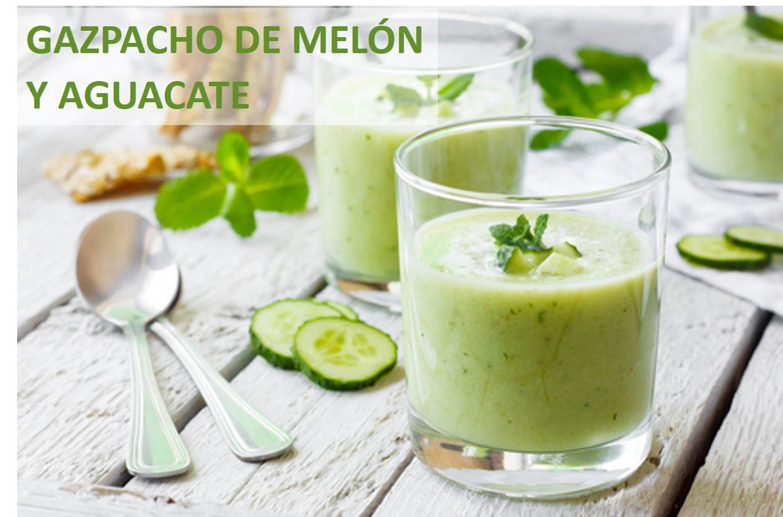 Gazpacho de Melón y Aguacate